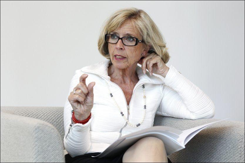 OMSKJÆRING OK: Helseminister Anne-Grete Strøm-Erichsen (Ap) vil ikke forby omskjæring i Norge, men vurderer å flytte det religiøse ritualet inn i norske sykehus. Det vil koste 13 millioner kroner i året. Foto: TROND SOLBERG