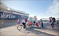 Billigere med bil enn sykkel til Danmark