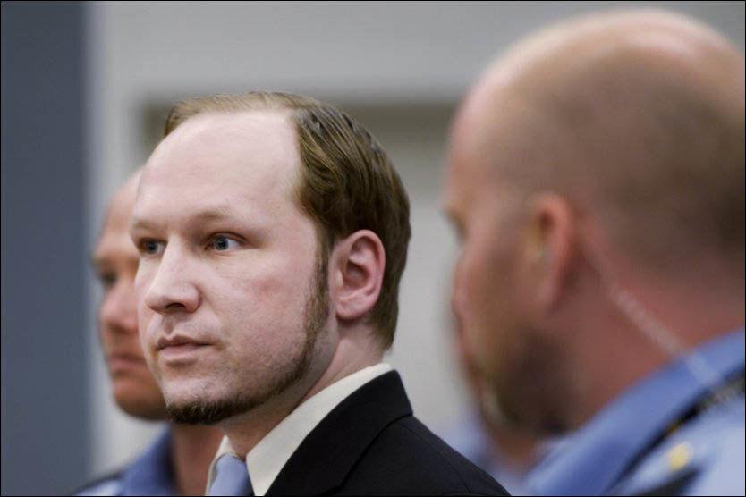 DOMMEN PÅ TV: Domsavsigelsen i 22. juli-rettssaken mot Anders Behring Breivik leses 24. august i år blir antatt å vare rundt en halv dag. Foto: Helge Mikalsen/VG