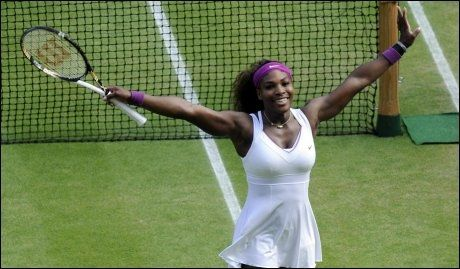 TIL FINALE NUMMER SYV: Serena Williams er klar for sin syvende Wimbledon-finale. Foto: Pa Photos