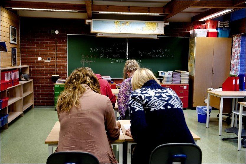 KRITIKKVERDIG: Arbeidstilsynet mener det er vanskelig å få kommunene til å forstå hvor viktig det er med et godt inneklima i skolene. Foto: ESPEN BRAATA, VG