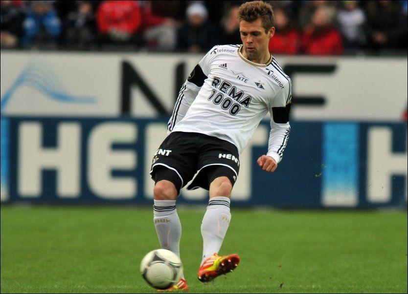 SISTE KAMP SPILT: Danske Jim Larsen har trolig spilt sin siste kamp i Rosenborg-trøya. Nå venter Belgia og Club Brugge for 26-åringen. Foto: NTB Scanpix/ Ned Alley