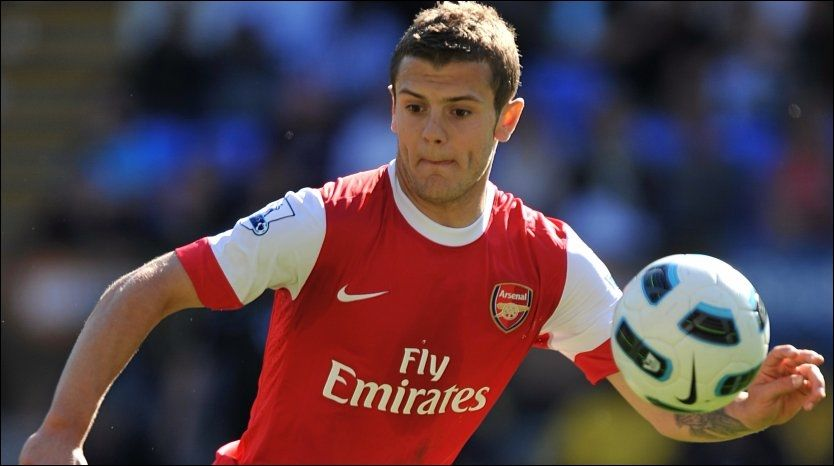 ADVART: Jack Wilshere har fått en advarsel fra UEFA etter at han angivelig fleipet om gambling på lagkameratene i Arsenal. Foto: PA