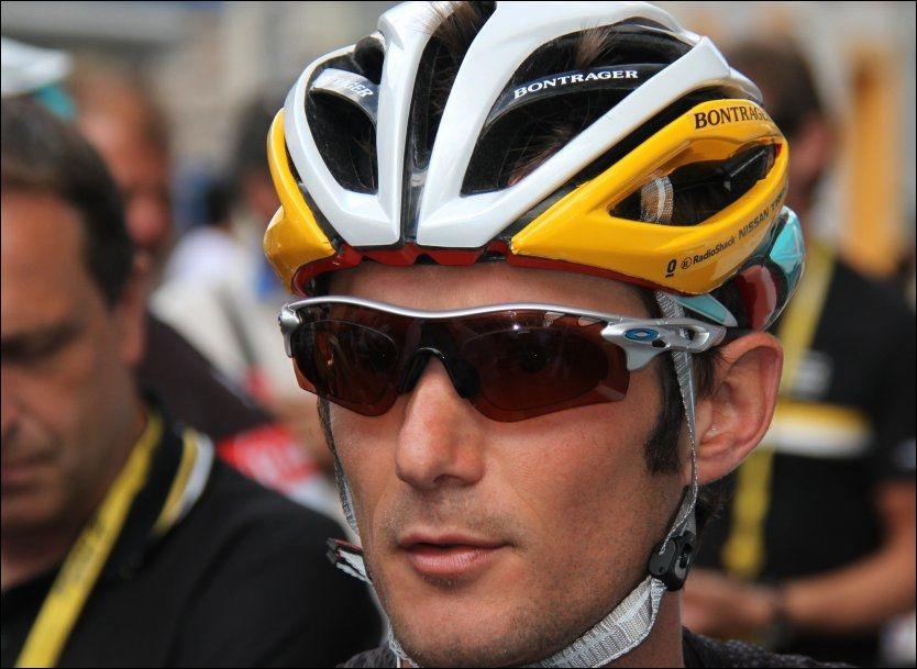 DOPTATT: Frank Schleck skal være tatt for doping. Foto: Scanpix/PA.