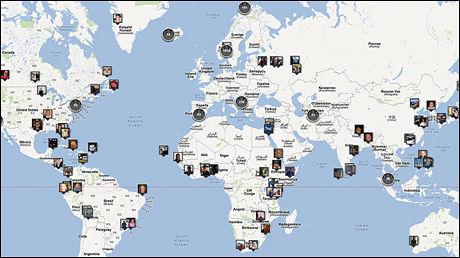 DEL DIN HISTORIE: Flere tusen mennesker har delt sin historie på VGs interaktive kart. Les andres historier og fortell din egen i lenken over. Foto: Faksimile: VG