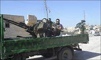 Syriske opprørere inntok grensepost