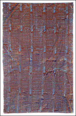 22.JULI-SERIE: «Til ihukommelse» er en av Borgny Svalastogs fem bilder på utstillingen.