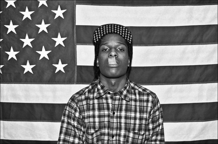 Slåsskamp: Den Øya-aktuelle rapperen Asap Rocky skal ha slått ned to forbipasserende fordi at de prøvde å ta bilder av han.
