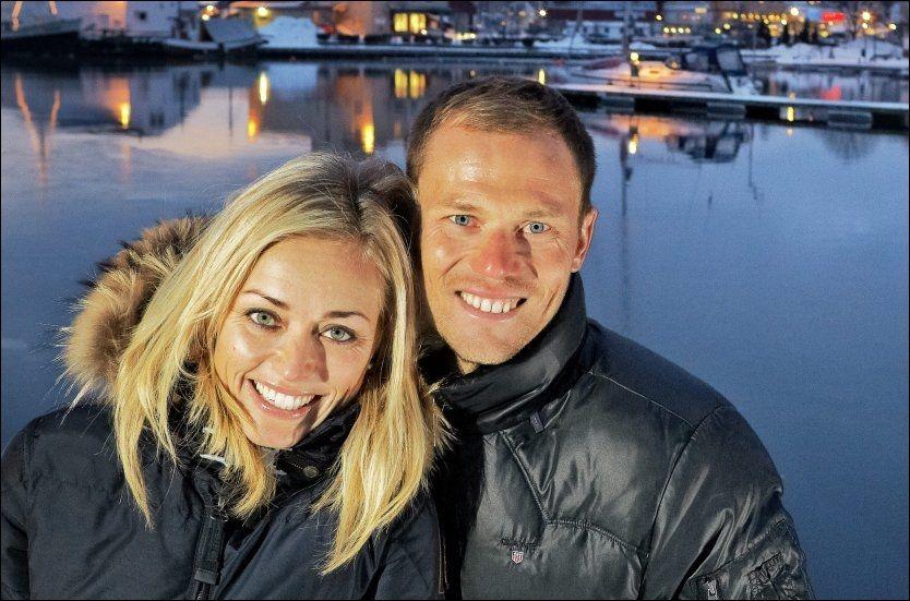 FORELDRE PÅ NY: Susanne og Thor Hushovd ble foreldre for andre gang natt til fredag. Foto: ESPEN SJØLINGSTAD HOEN / VG
