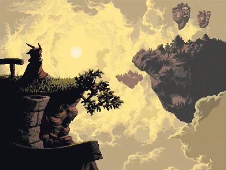 INDIE-FAVORITTER: Askøy-selskapet D-Pad Studio jobber med spillet «Owlboy», som har høstet tonner med indie-cred internasjonalt. Foto: D-PAD STUDIO