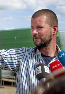 ØNSKER LEIR: Folk er folk-leder Bjønnulv Evenrud. Foto: KRISTIAN HELGESEN / VG