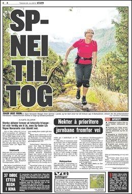 FAKSIMILE: VG i dag.