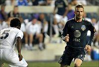 Beckhams lag slo Chelsea på overtid