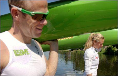 STERKT PAR: Mira Verås Larsen er gift med Eirik Verås Larsen. Foto: KRISTIAN HELGESEN / VG