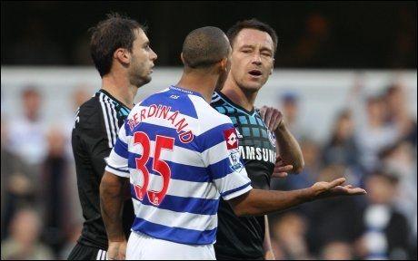 FRIKJENT: John Terry ble frikjent i retten, likevel åpner FA sak mot Chelsea-spilleren, for å ha kommet med rasistiske kommentarer mot Anton Ferdinand. Foto: Pa Photos