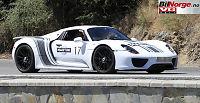 Ny super-Porsche testet på bane