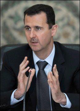 PRESIDENT: President Bashar al-Assads regime har tatt livet av tusenvis uskyldige syrere. Foto: AFP / NTB Scanpix