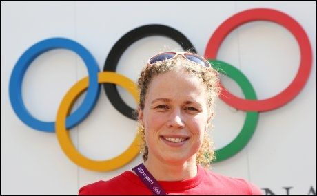 TAPTE: Sara Blengsli Kvernø tapte sin åpningskamp i OL. Foto: NTB Scanpix