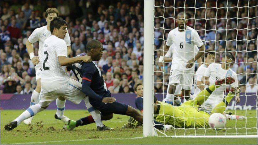 HELT: Daniel Sturridge ble matchvinner for Strobritannia i oppgjøret mot Uruguay. Foto: Ap