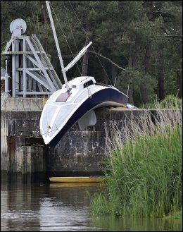 MYKE VERDIER: Erwin Wurms «Le bateau mou». Foto: AFP