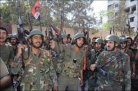 Syrias hær hevder å ha kontroll over Damaskus