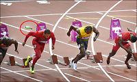 Kastet flaske inn på banen like før 100 meter-finalen