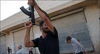 Opprørerne i Syria drevet ut i Aleppo