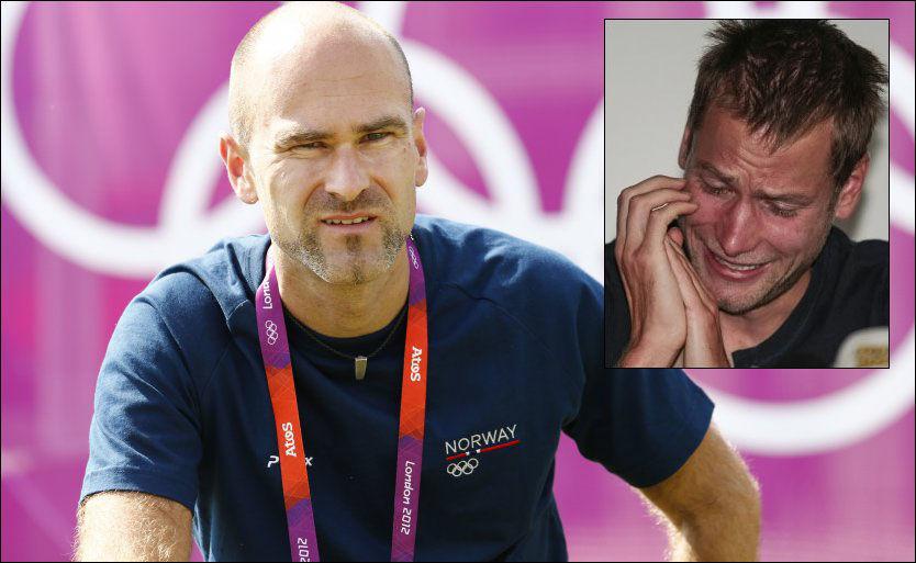 IRRITERENDE: Trond Nymark har ikke noe til overs for all dopingen i sporten, men synes det er bra at Alex Schwazer (innfelt) var åpen om dopingen. Foto: Heiko Junge, NTB Scanpix/AFP