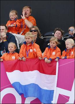 STOR GJENG: Nederlenderne kan skryte av den største kongelige heiagjengen under årets OL. Foto: Reuters