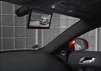 Audi med digitalt bakspeil