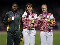 Semenya til kort mot russer på 800 meter