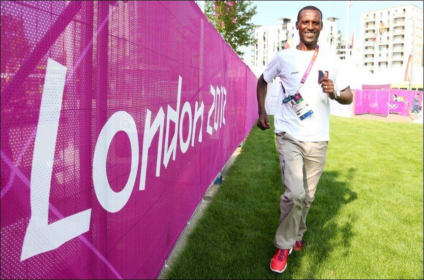 AVSLUTTER SHOWET: Urige Buta er den siste norske utøveren som skal i aksjon i London-OL. Foto: Erik Johansen, NTB Scanpix