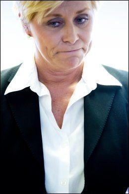 KRITISK: Frp-leder Siv Jensen forventet en mer ydmyk statsminister. Foto: Terje Bringedal