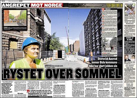 VG, 22. august 2011.