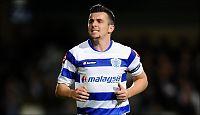 Joey Barton på vei bort fra QPR
