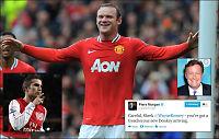 TV-stjerne: Rooney, det ankommer et forrædersk esel!