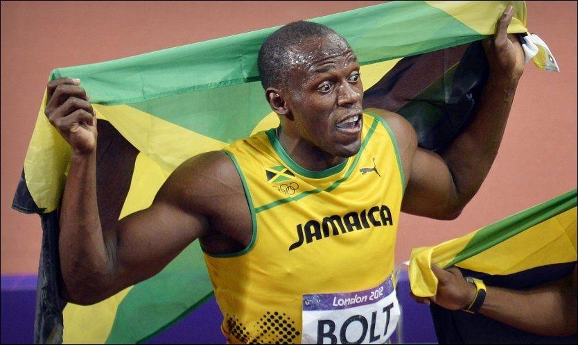 SKATTES I HJEL: Usain Bolt vant gull på 100, 200 og 4x100 meter i London-OL. Men Jamaicas sprintfantom har ikke råd til å komme tilbake på grunn av skattetrykket i Storbritannia. Foto: Bjørn S. Delebekk, VG