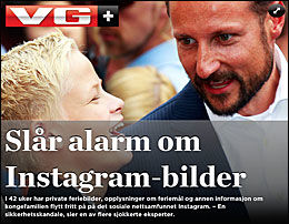 Foto: Faksimile: VG