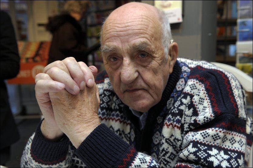 OPPRØRT: Joralf Gjerstad, best kjent som Snåsamannen. Her på et bilde fra to år tilbake. Foto: TERJE MORTENSEN