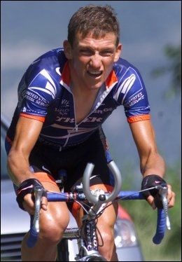 DOPET: Tyler Hamilton under Tour de Suisse i 2001. Foto: Alessandro Della Valle, AP