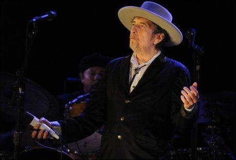 HOLDER KOKEN: Bob Dylan. Foto: AFP