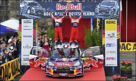 NY PROMOTOR: Red Bull blir rallysirkusets nye promotor fra og med 2013. Foto: Afp