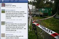 Facebook-profilen til drapssiktet stengt etter hets