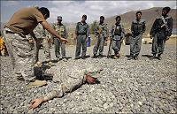 Amerikanske soldater forlater Afghanistan