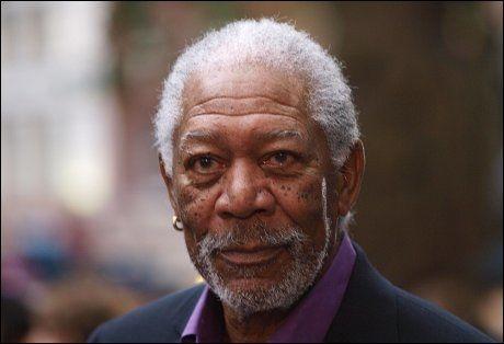 FORTSATT I FULL VIGØR: Skuespiller Morgan Freeman (75) er slett ikke død. Foto: AFP