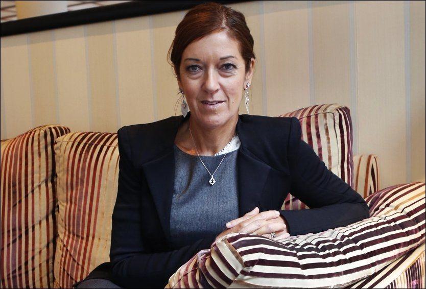 I OSLO: Suksessforfatter Victoria Hislop (53) deltar på Oslo Bokfestival denne helgen. Foto: NILS BJÅLAND