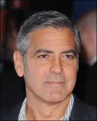 FAVORITTEN: George Clooney (51). Foto: AP