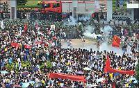 Kinesere i rasende protest mot Japan