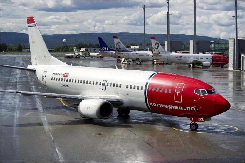 KAN BLI SATT PÅ BAKKEN: Det er igjen fare for streik i Norwegian. Foto: ESPEN BRAATA / VG