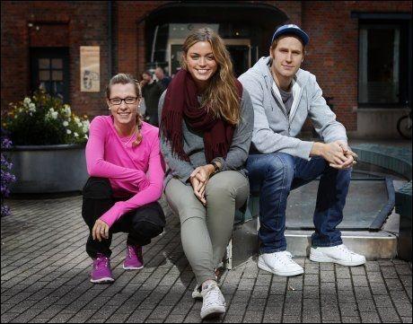 FREMTIDENS LÆRERE: Solveig og Ingrid har bare ett år igjen på lærerskolen, mens Lars Krogstad (25) er ferdig utdannet mattelærer. Foto: Nils Bjåland, VG